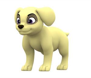labrador puppy 3D