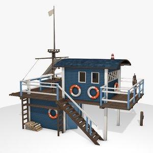 3D sea playhouse
