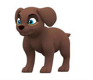 labrador puppy model