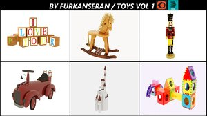 3D toys model collection