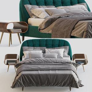 3D margot bed