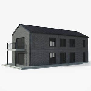building pbr - 3D model