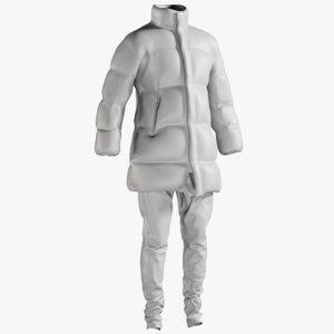 3D mesh men s coat