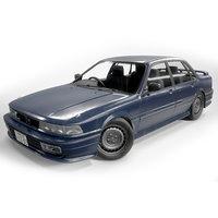 Mitsubishi Galant Japanese Realistic Car