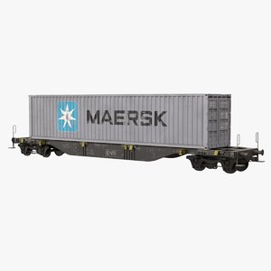 3D container wagon