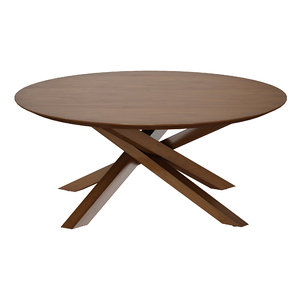 3D wood coffee table apex model