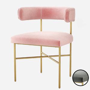 furniture kim performance velvet model