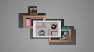 shelf case 3D model