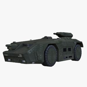 3D model apc colonial marines