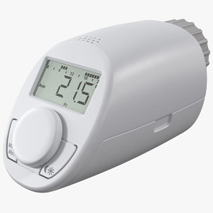 electronic radiator thermostat model