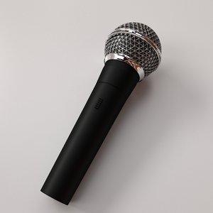 microphone mic 3D model