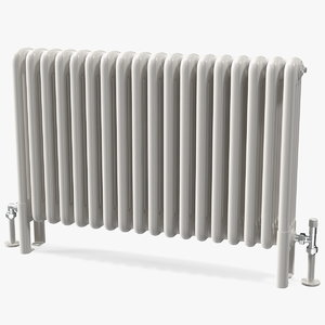central heating radiator 3D model