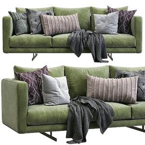 dee sofa berto 3D model