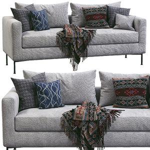 3D model livingdivani sofa box
