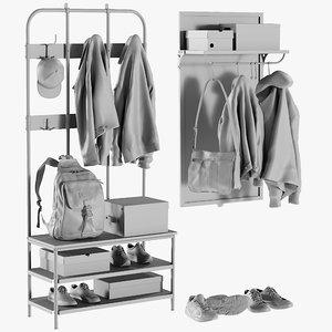 3D mesh wardrobe 2 -