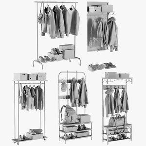 mesh wardrobe 5 - 3D model