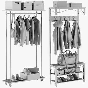 mesh wardrobe 3 - 3D