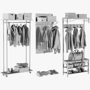 3D mesh wardrobe 4 -