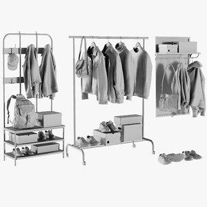 mesh wardrobe 1 - model