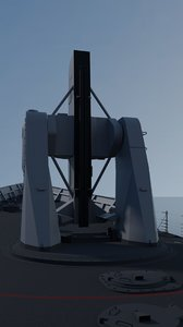 mk-13 missile 3D model