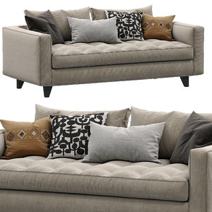 sofa willy slim marac 3D model
