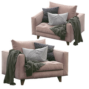armchair willy slim marac 3D model