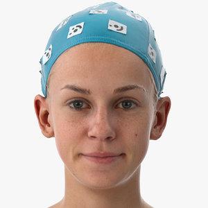 rhea human head dimpler 3D model