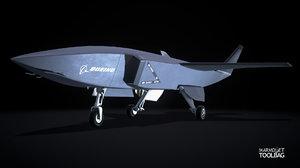 3D boeing drone loyal wingman