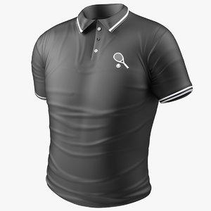 sport t shirt 3D model