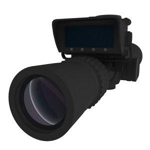 3D optical sight