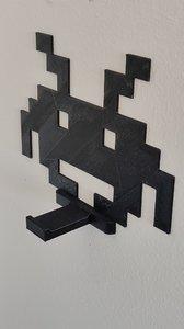 3D space invaders hook