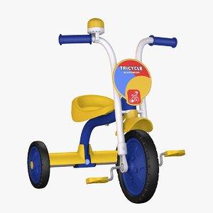 3D kids toy model