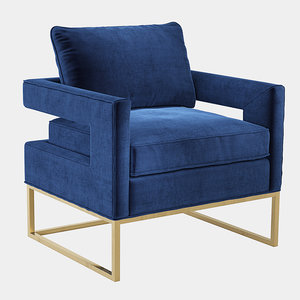 3D accent chair kings model