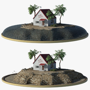 3D kamehouse house