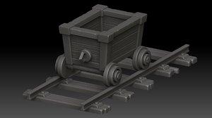 trolley stylized model