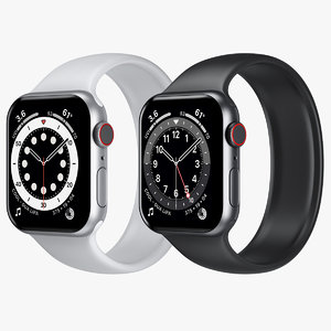 3D apple watch 6 aluminum model