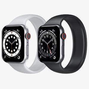 3D apple watch 6 aluminum model