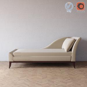 3d model elizabeth chaise
