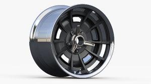 wheel type halibrand concept 3D model
