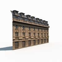 Apartment House #68 Low Poly 3d Model