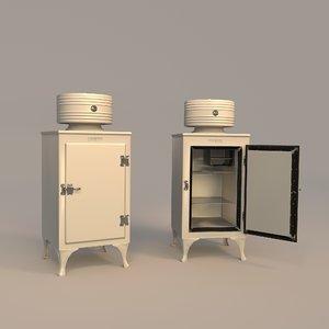 monitor refrigerator 3D model