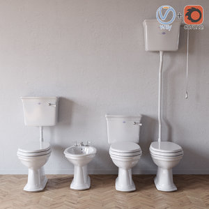 devon westminster sanitary 3D model