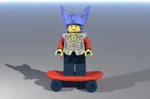 3D skate model