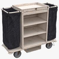 Housekeeping Cart Used