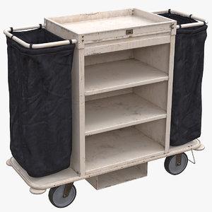 housekeeping cart used model