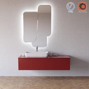 3D enea vanity edone