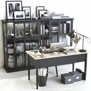 office arkelstorp desk 3D model