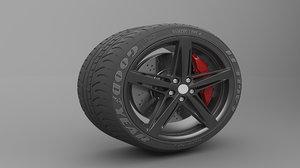 wheel tire model
