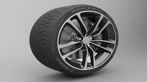 3D wheel tire