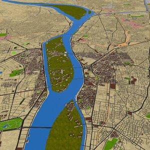 3D 2020 city model